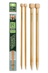 Takumi Bamboo Knitting Needles Single Pointed (9 inch) Clover, Takumi Bamboo Knitting Needles Single Pointed 9 inch, Knitting Needles Single Pointed 9 inch, Bamboo Knitting Needles, bamboo, needles, knitting