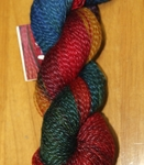 Twizzle Foot mountain colors, twizzle foot, merino wool, silk, nylon, sock weight, fingering weight