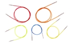 Colored Interchangeable Cords Knitters Pride Colored Interchangeable Cords, knitting