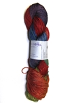 Black Butte Alxendras Crafts, Black Butte, fingering, wool, yak, silk, hand dyed