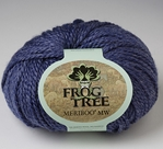 Meriboo MW Frog Tree, meriboo MW, bamboo, merino wool, machine washable, DK weight