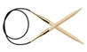 Bamboo Fixed Circulars Knitter's Pride Bamboo Fixed Circular Needles, gold plated, needles, knitting needles, bamboo needles