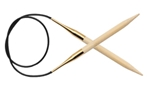 Bamboo Fixed Circulars Knitters Pride Bamboo Fixed Circular Needles, gold plated, needles, knitting needles, bamboo needles