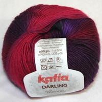 Darling katia darling, superwash, merino, nylon, polyamide, fingering weight